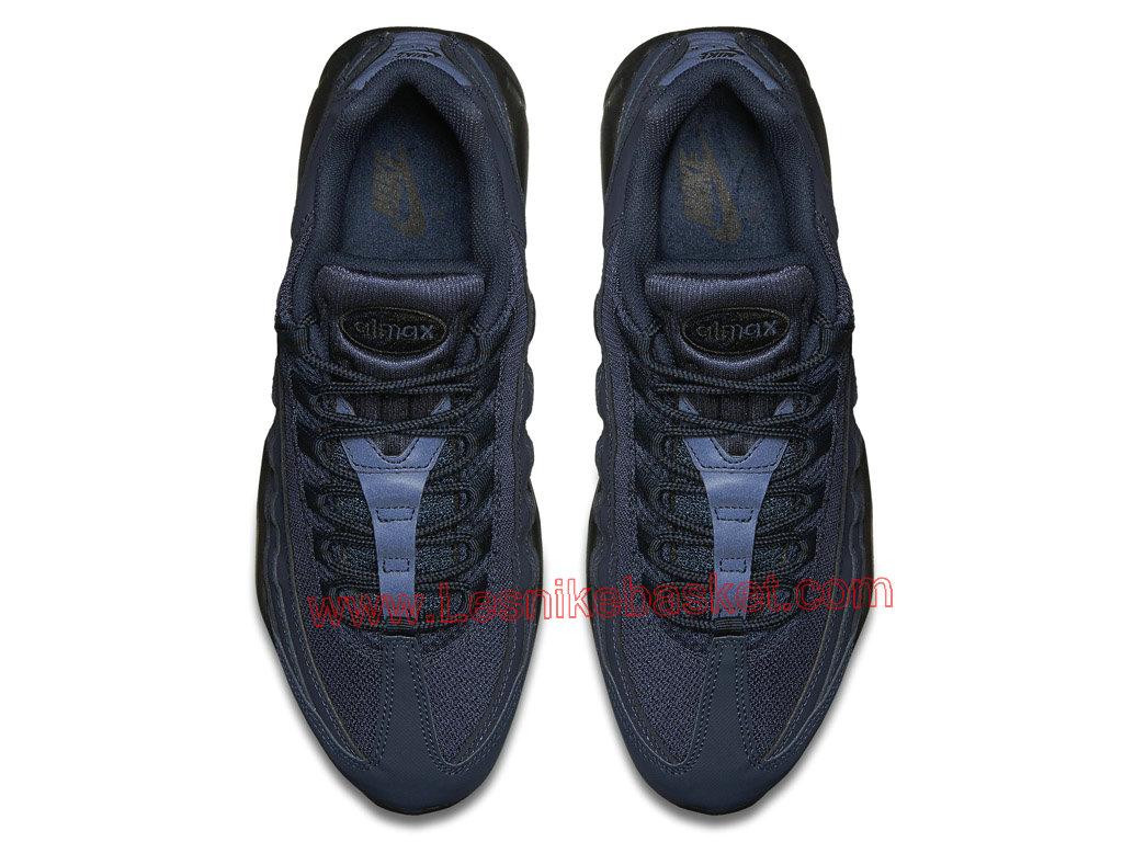 Basket Homme Nike AIR MAX 95 Cuir Basket Bleu Marine 609048 407 Basket Cuir NIke 4c821e