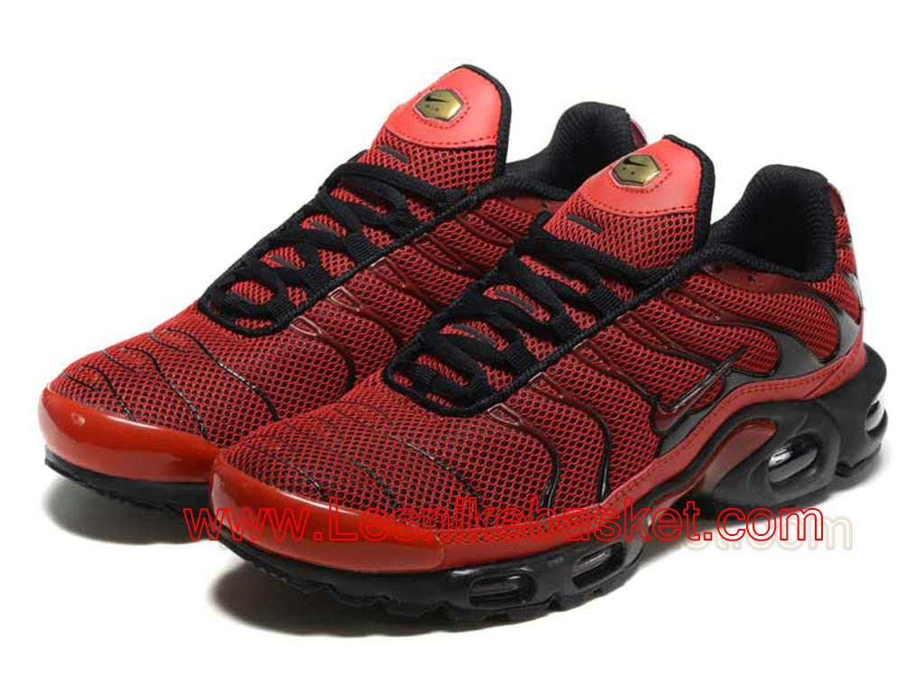 ... Basket Homme Nike Air Max Plus(TN) Diablo Red 604133-660 Tn Requin