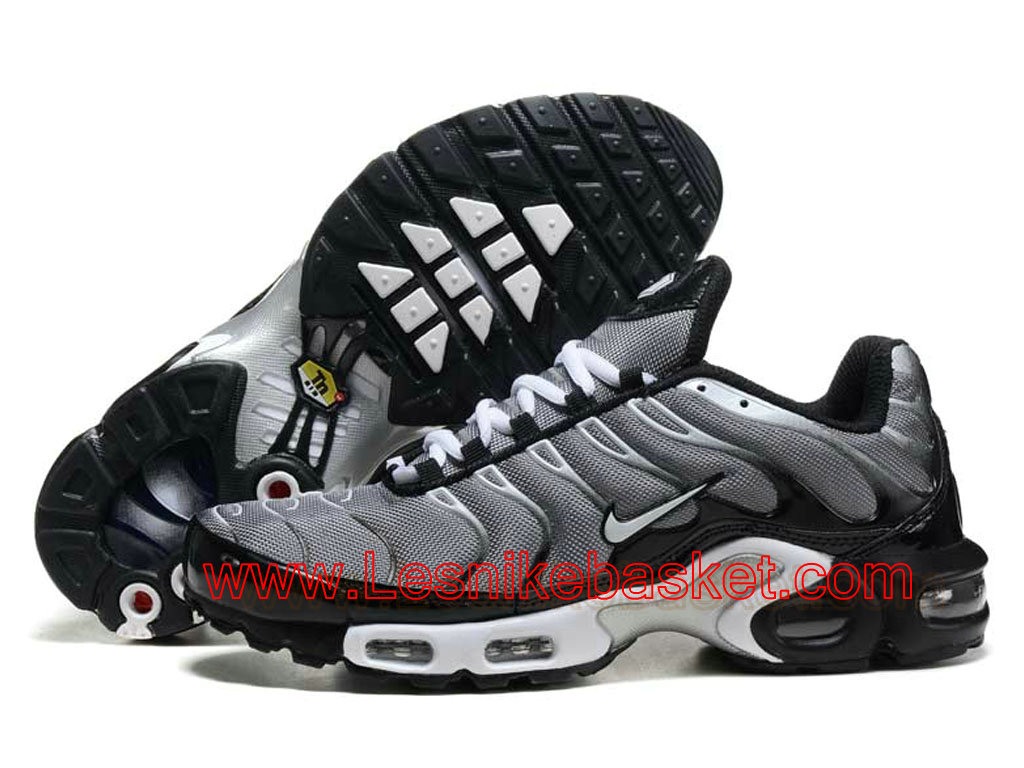 ... Basket Homme Nike Air Max Plus(TN) Wolf Gris/Noir Officiel Nike tn