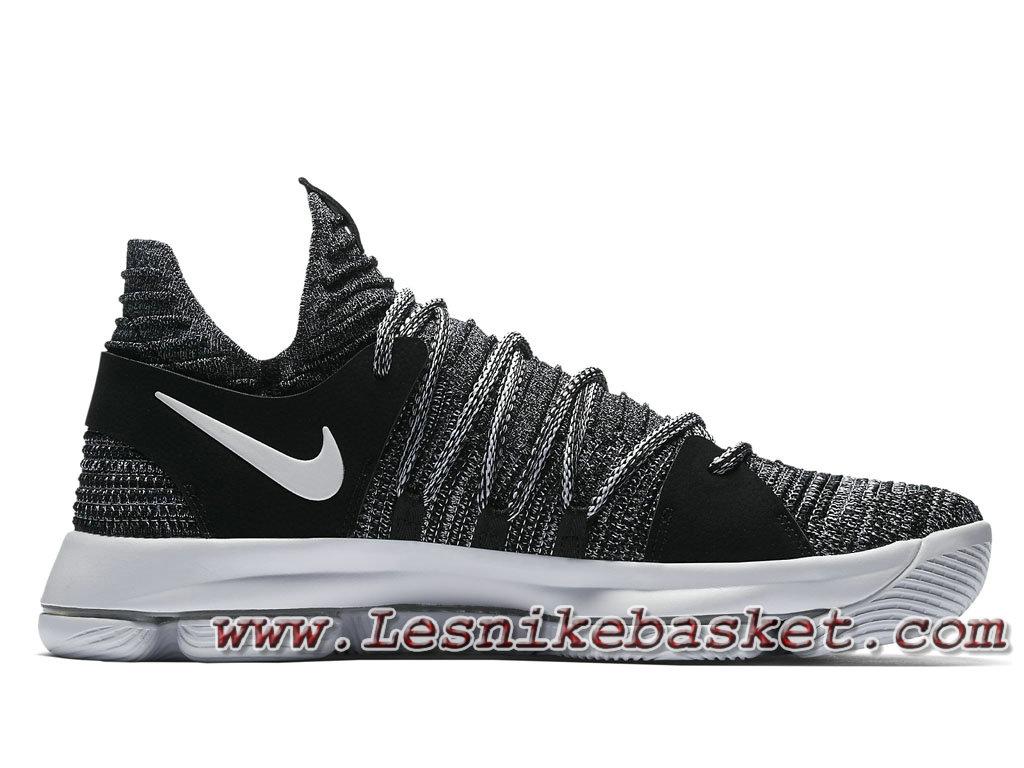Basket Nike KD 10 Oreo 897815  Chausport Nike Kd Prix Pour Homme