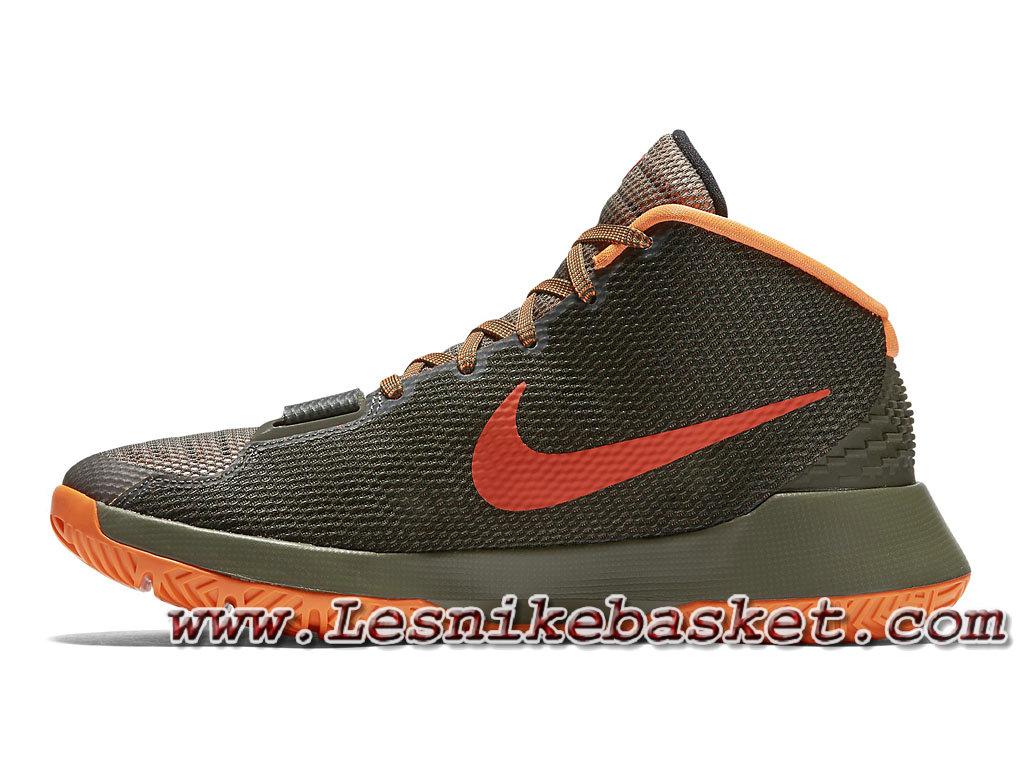 huge discount 53a9d 753ed ... Basket Nike KD Trey 5 III Olive Orange 749377-263 Homme Nike Pas cher  ...