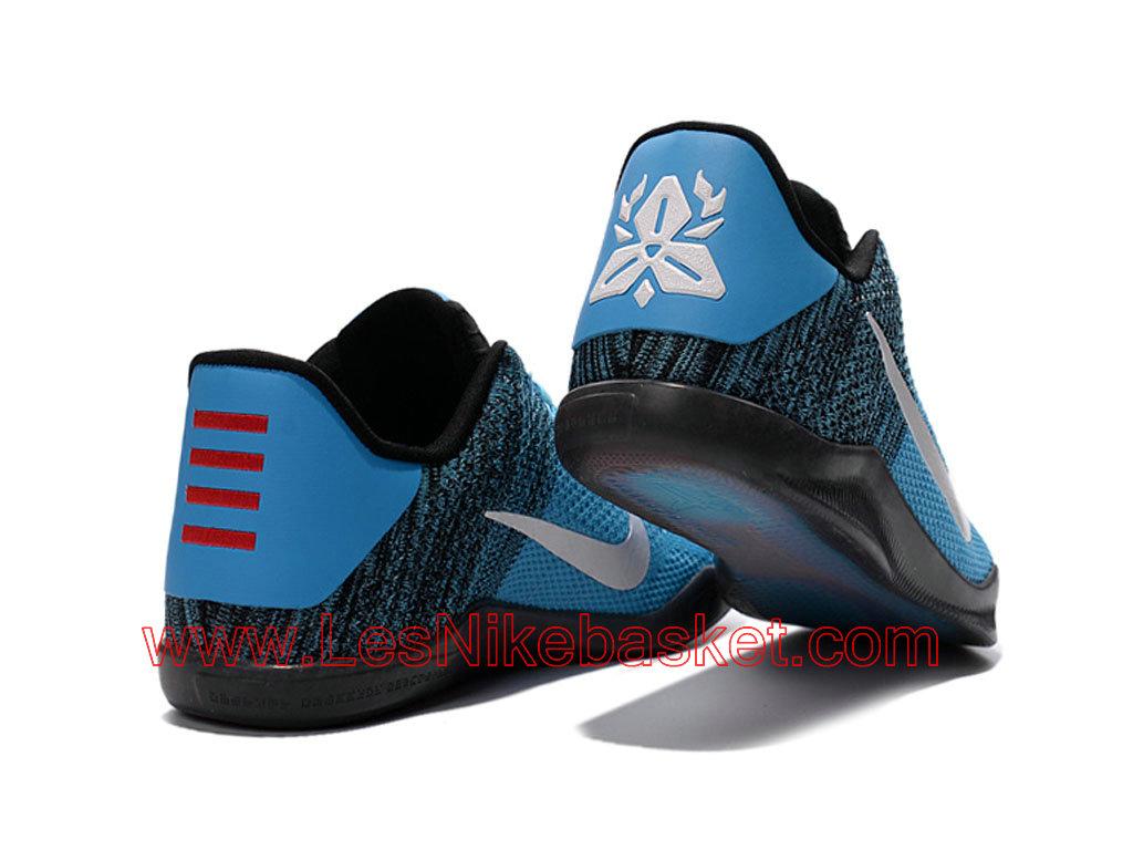 best service 379d4 985ea ... buy basket nike kobe 11 elite low homme bleu noir blanc 822675 id5  officiel nike dea5e