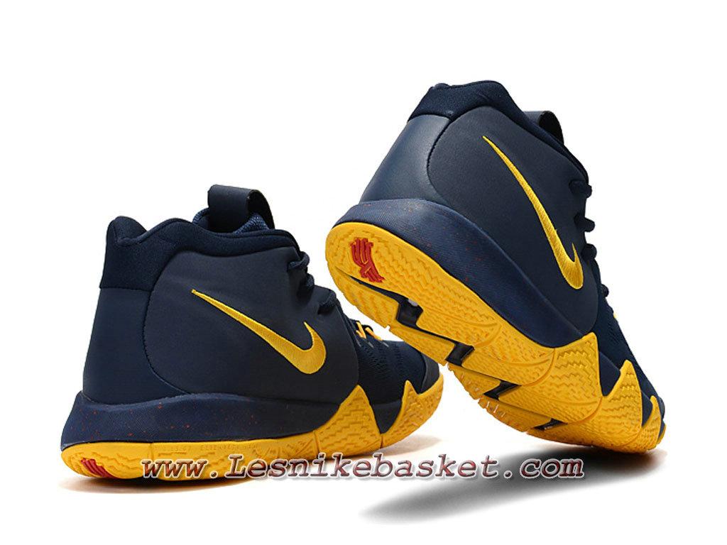 ... Basket Nike Kyrie 4 Bleu Jaune Chaussures Nike 2018 Pour Homme