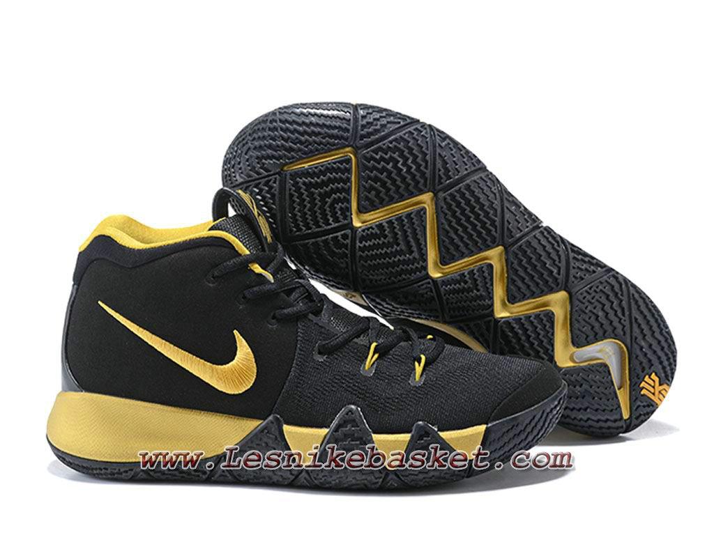 de25e94f7c5c ... Basket NIKE Kyrie 4 Noires Gold Chaussures Nike 2018 Pour Homme ...