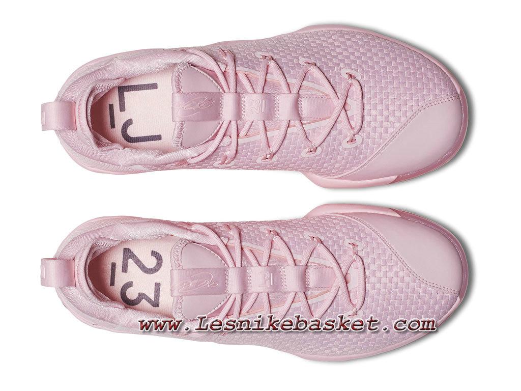 Basket Nike LeBron 14 Low Pink 878635_600 Chausport Nike