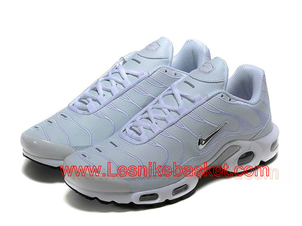Basket Tn Homme Nike Air Max Plus(Tn) White Argent Officiel Prix