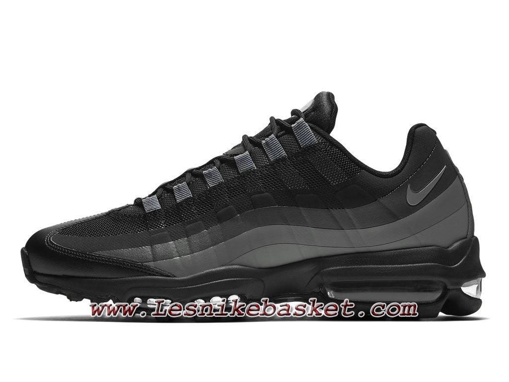 meilleure sélection ab731 aa9f1 chaussure Nike Air Max 95 Ultra Essential pour Homme Noires/Gris  857910_001-1707313278 - Les Nike Sneaker Officiel site En France