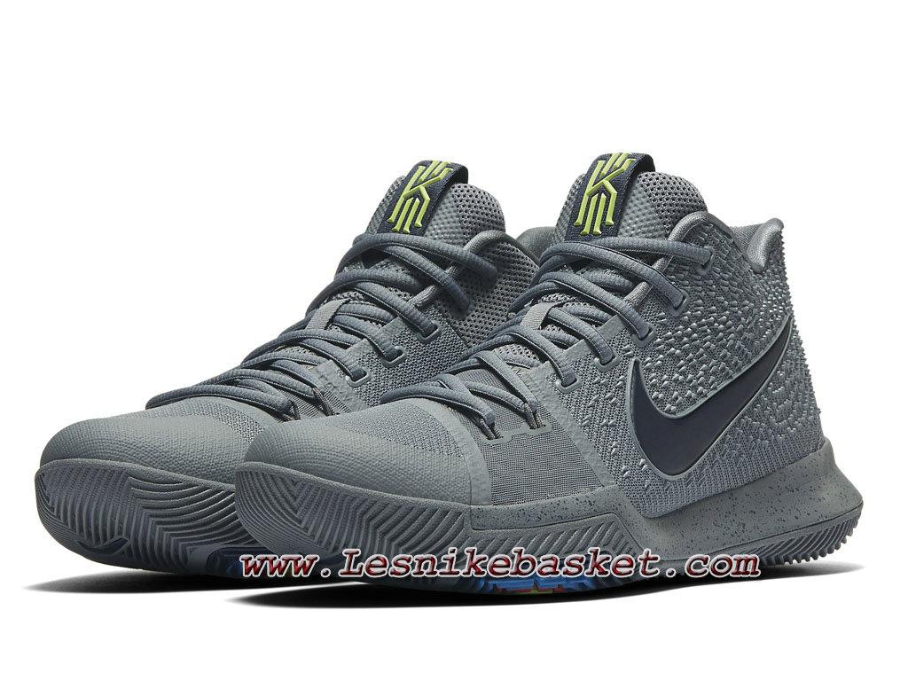 designer fashion 9da7a 4c449 Grey Kyrie 001 3 Midnight 852395 Chaussures Nike Basket Nike Kyrie wTXq11Sp