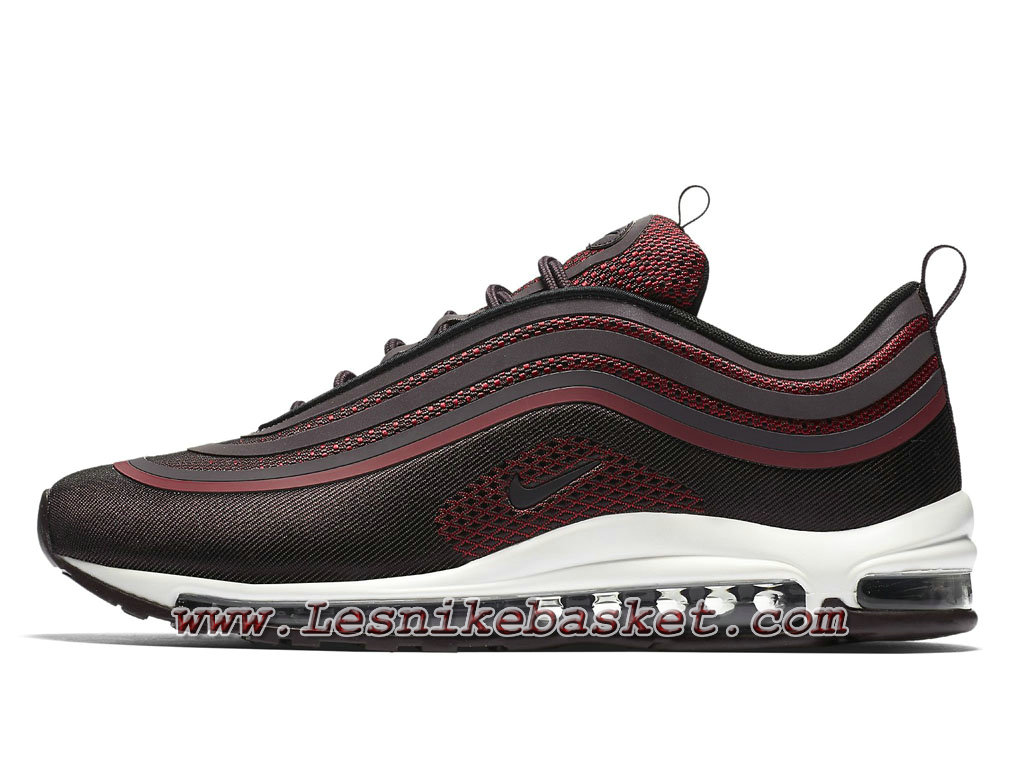 Chaussures Nike Air Max 97 Ultra´17 Burgundy 918356_600 Nike Pas cher Pour HOmme 1711213507 Les Nike Sneaker Officiel site En France