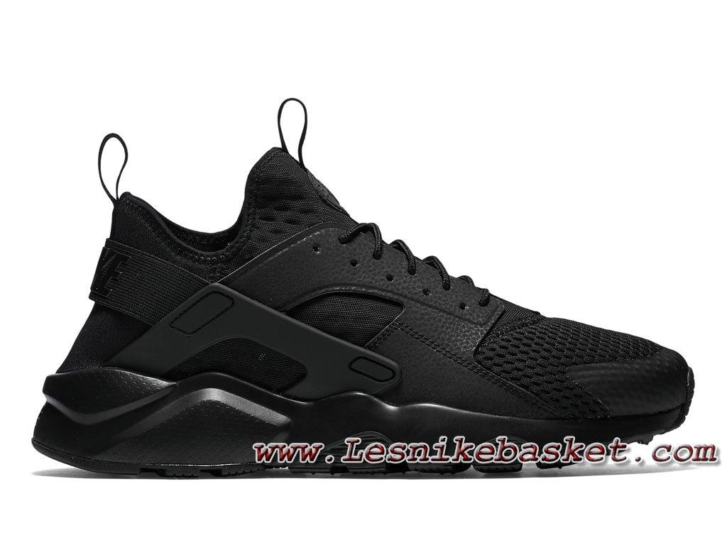 1e9515a47d54 Homme Nike Air Huarache Ultra Breathe Black Black 833147 001 Running Nike  urh ...
