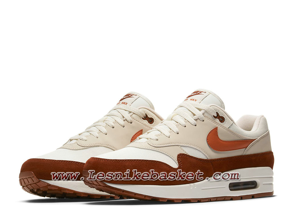 ... Nike Air Max 1 Mars Stone AH8145_104 Chaussures Officiel nike Prix Pour Homme Orange ...