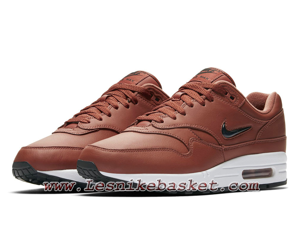 premium selection 839cf 6ad63 ... Nike Air Max 1 Premium SC Dusty Peach 918354 200 Chaussures Officiel  Nike 2018 pour Homme ...