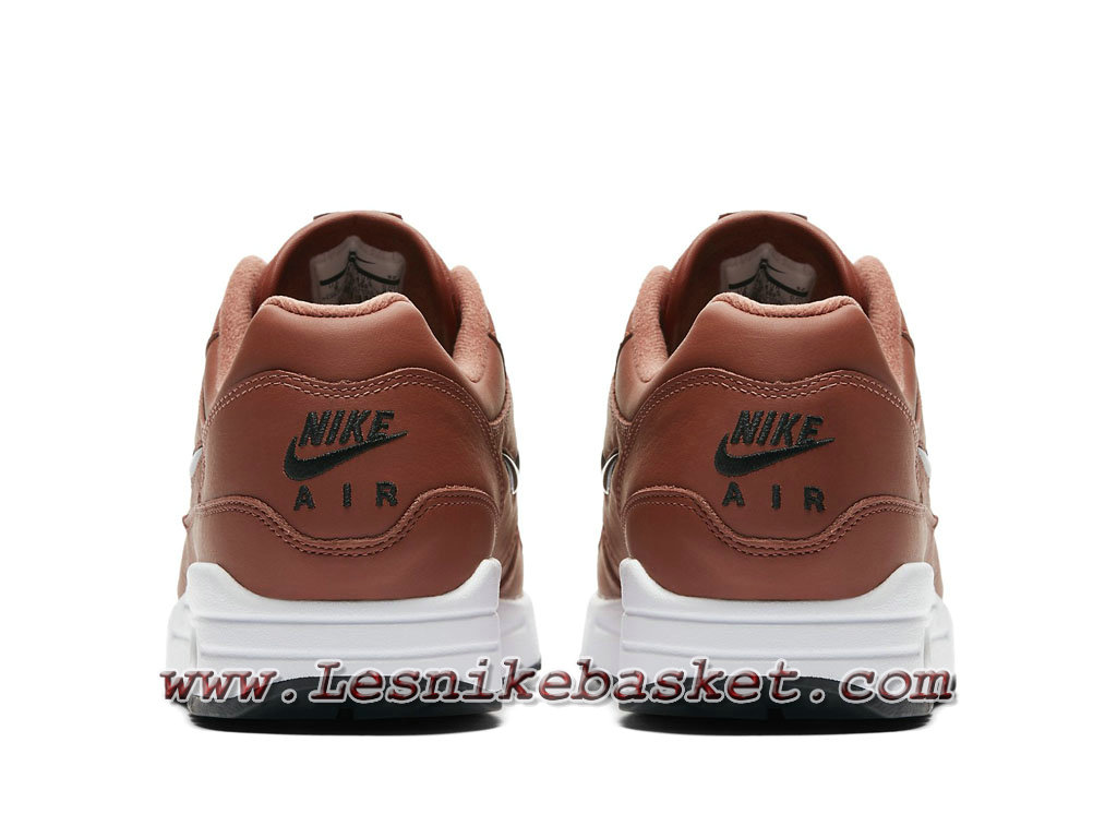 new concept 3f2cd 3f15a ... Nike Air Max 1 Premium SC Dusty Peach 918354 200 Chaussures Officiel  Nike 2018 pour Homme