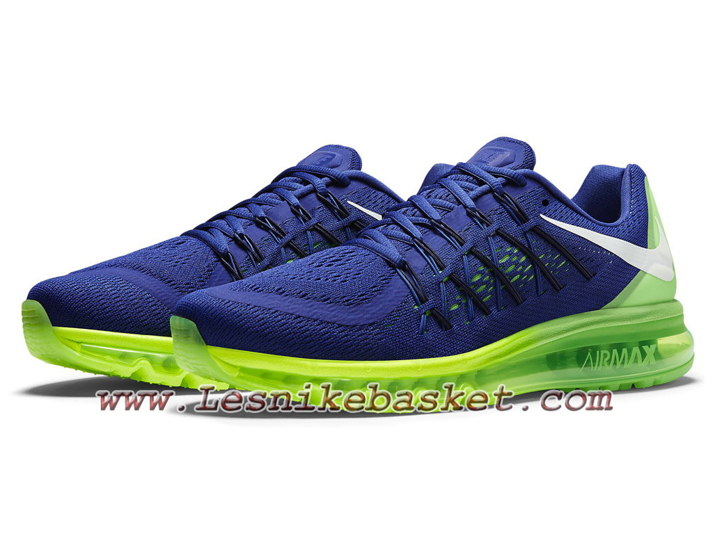 ... Nike Air Max 2015 Sprite Chaussures Nike prix Pour Homme 698902_407 ...