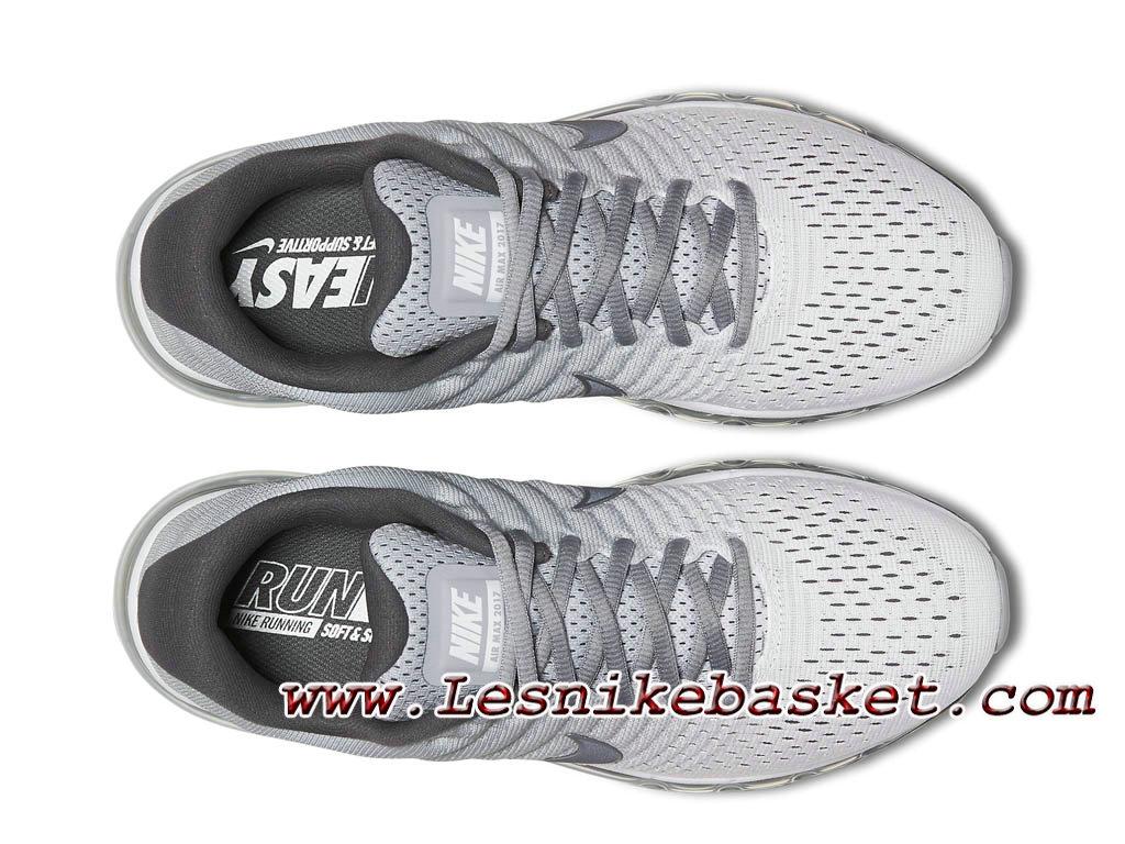 design intemporel aabec 304c4 Nike Air Max 2017 Blanc/Gris loup 849559_101 Chaussures Nike Pas cher Pour  Homme-1701132763 - Les Nike Sneaker Officiel site En France