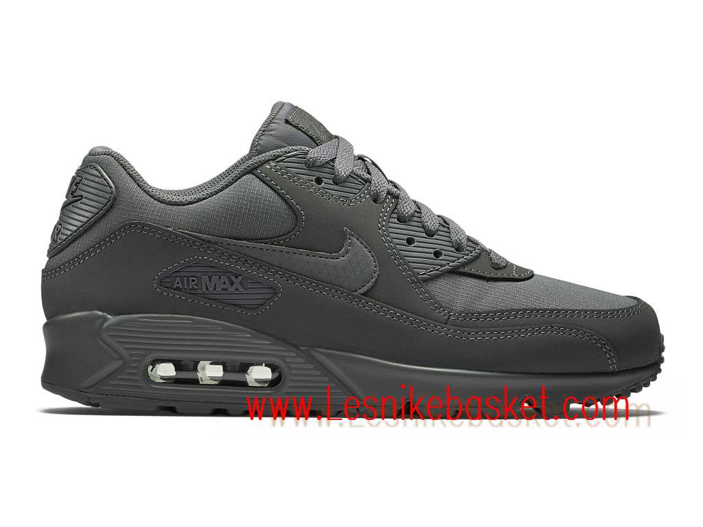 Sneaker Nike Air Max 90 Essential Chaussures Officiel 2018 Pas Cher Pour Homme Bleu Blanc 537384 411 537384 411 Nike Sneaker 2018 France