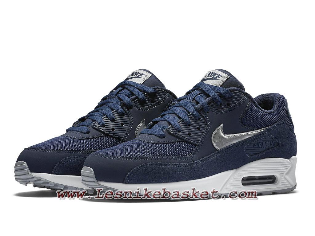 Nike Air Max 90 Essential Navy Blue 537384 411 Chaussures