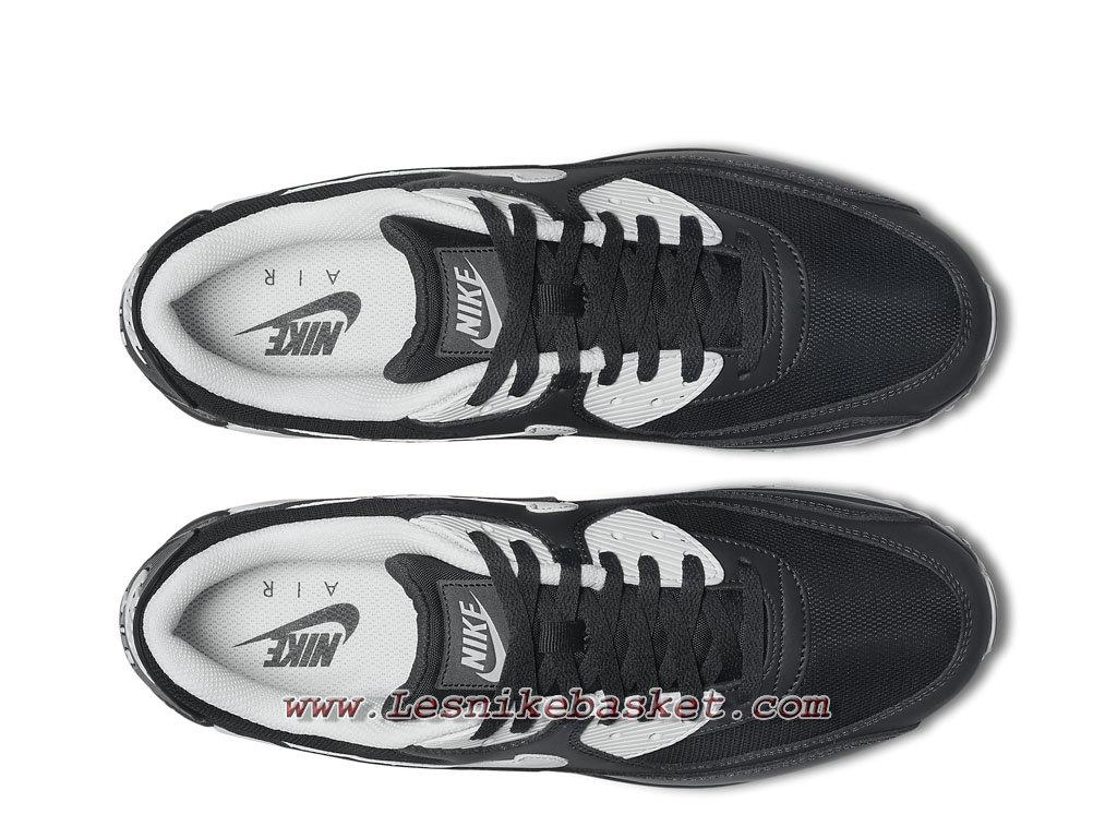 Nike Air Max 90 Essential Noires 537384_089 Chaussures Nike Sportwear Pour Homme noires 1804213756 Les Nike Sneaker Officiel site En France