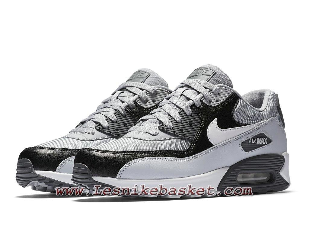Baskets Nike Air Max 90 Essential, Modèle 537384 083 Gris