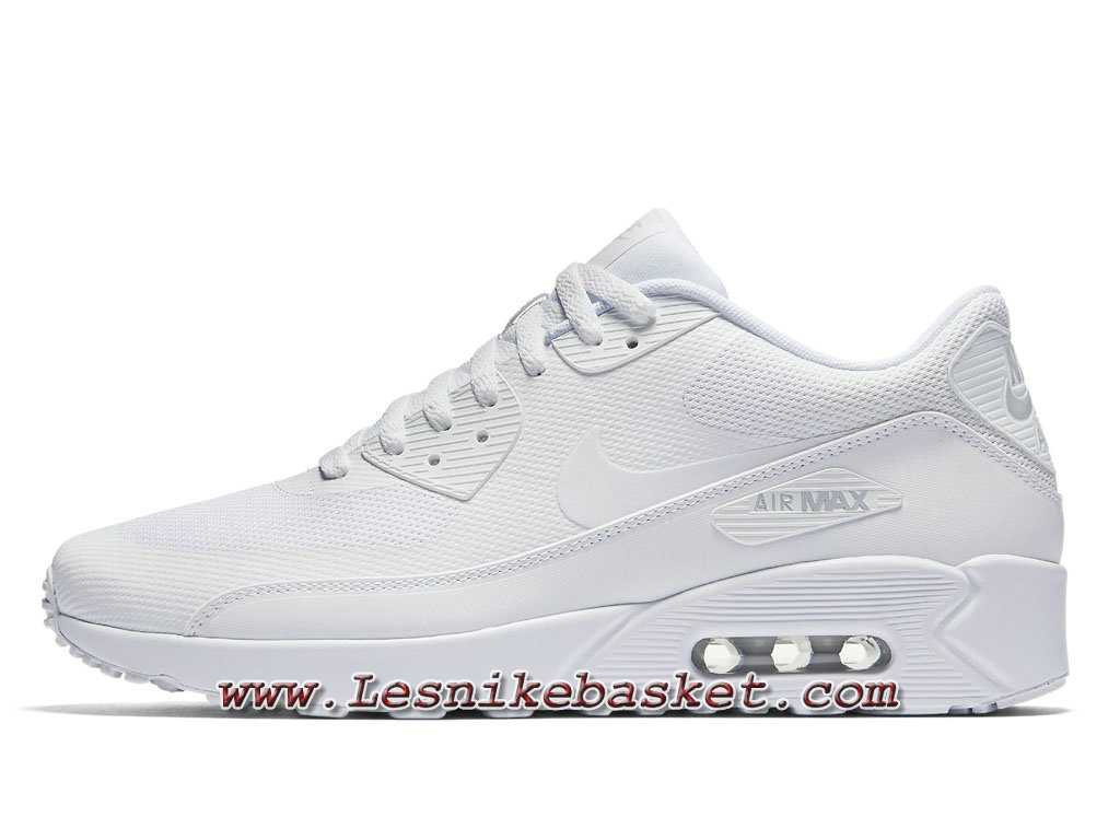 separation shoes 0b71e ab7e3 Nike Air Max 90 Ultra 2.0 Flyknit Blanc 875695 101 Chaussures NIke prix  Pour Homme