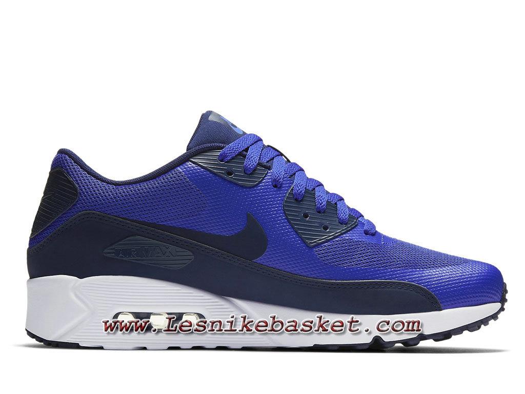 Nike Air Max 90 Ultra 2.0 Flyknit Bleu 875695_ID1 Chaussures