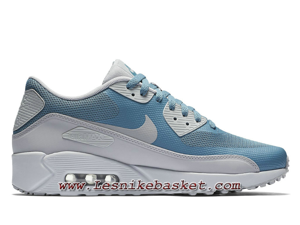 on feet shots of best value how to buy Nike Air Max 90 Ultra 2.0 Flyknit Light Blue 875695_001 Chaussures ...