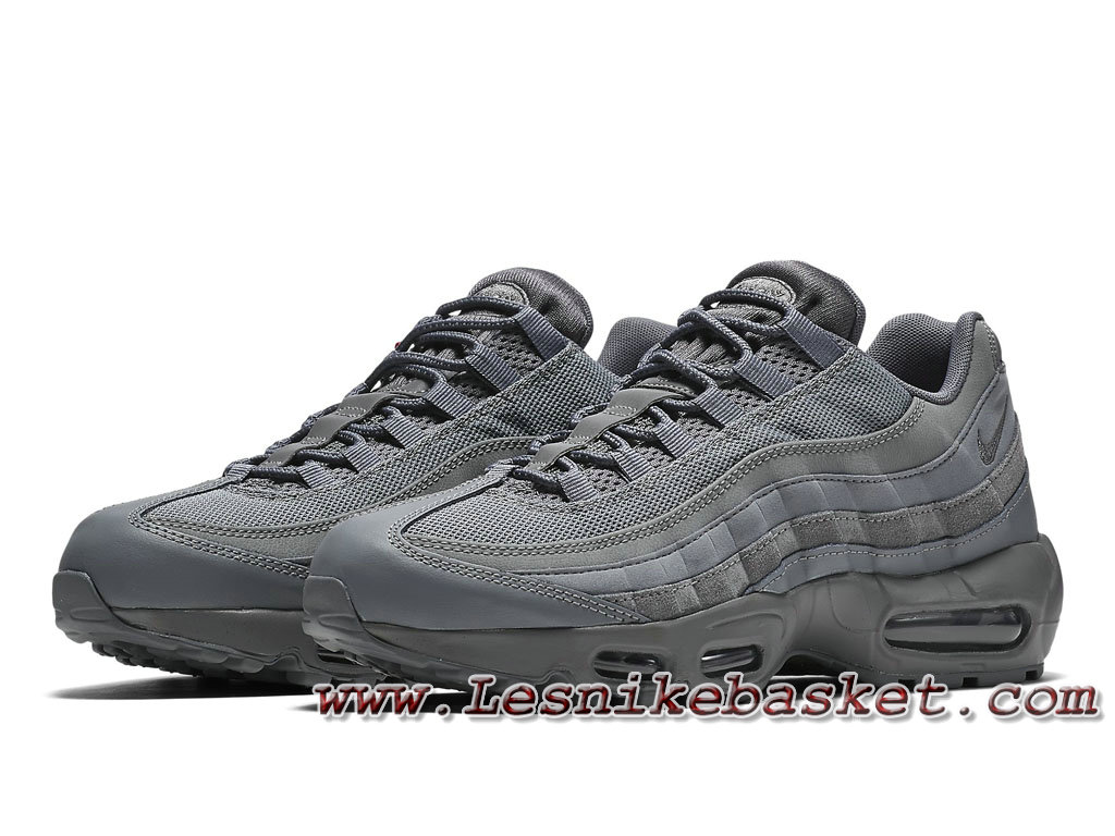 ... Nike Air Max 95 Essential ´Cool Grey´ 749766_012 Chausport Officiel Nike 2017 Pour Homme ...