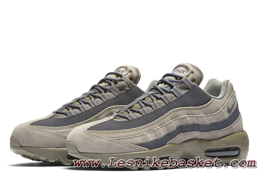 ... Nike Air Max 95 Essential ´Kaki/Dark Grey´ 749766_200 Chausport Officiel Nike Pour ...
