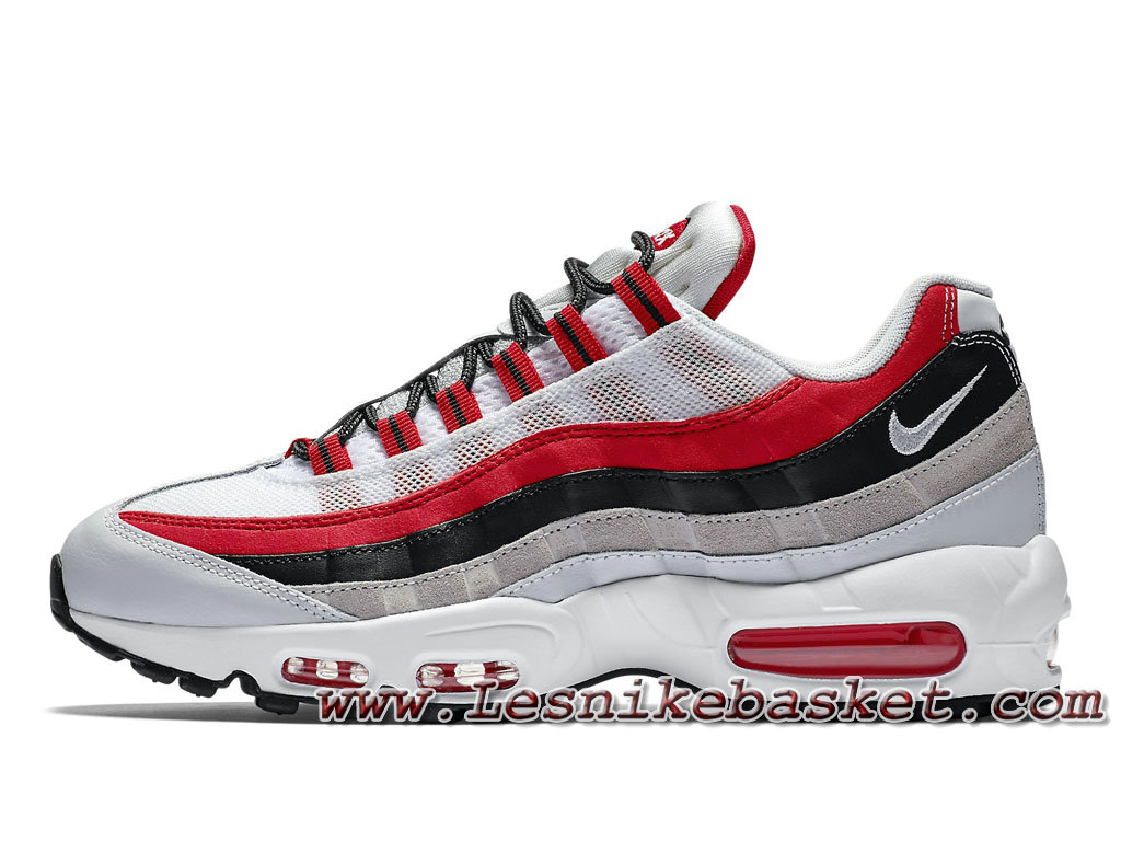 huge selection of 1118a a6e5e Nike Air Max 95 Essential ´University Red´ 749766 601 Chausport Officiel  Nike Prix Pour Homme ...