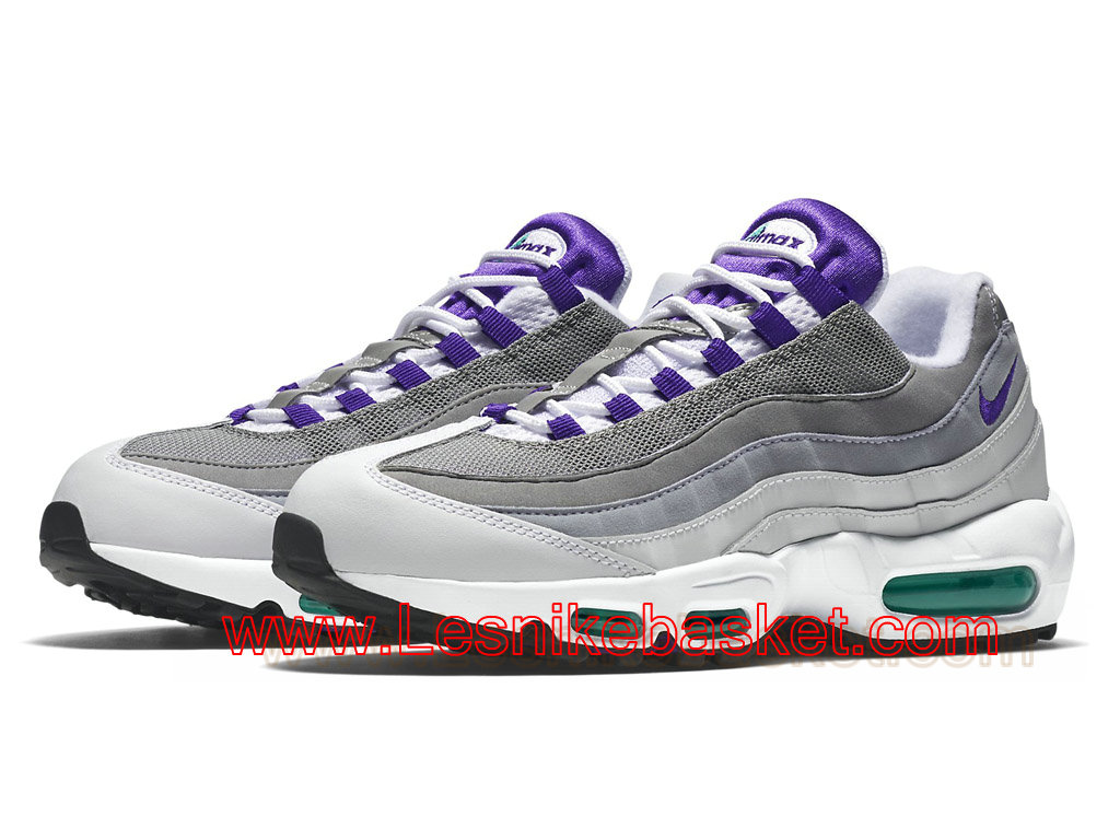 air max 95 id femme violet blanche