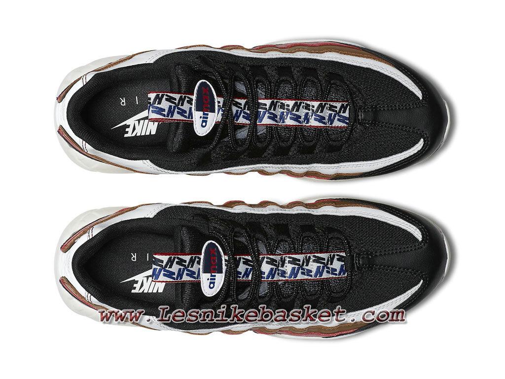 Nike Air Max 95 TT Navy Rouge Marron AJ4077_002 Chaussures Nike Pas cher Pour Homme 1802243658 Les Nike Sneaker Officiel site En France