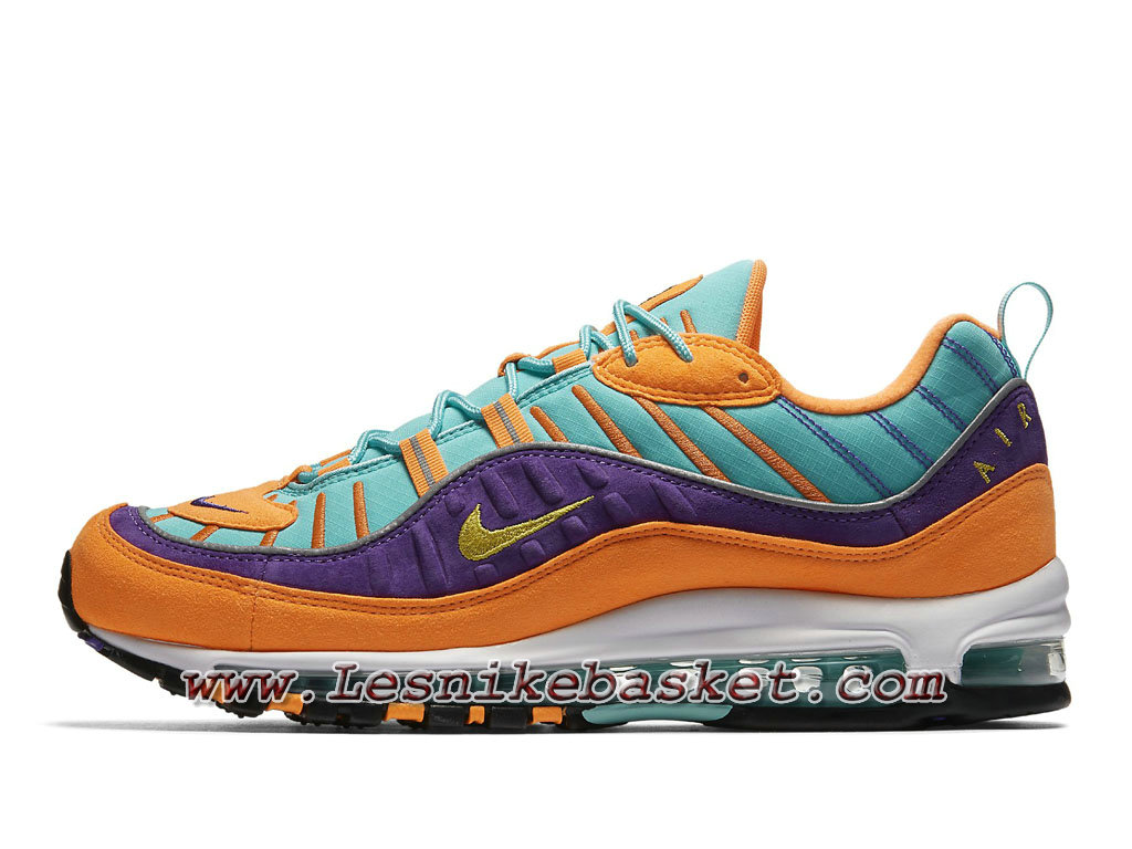 Nike Air Max 98 QS Yellow Grape 924462_800 Chaussures Nike Sporewear Pas cher Pour Homme Orange 1803073668 Les Nike Sneaker Officiel site En France