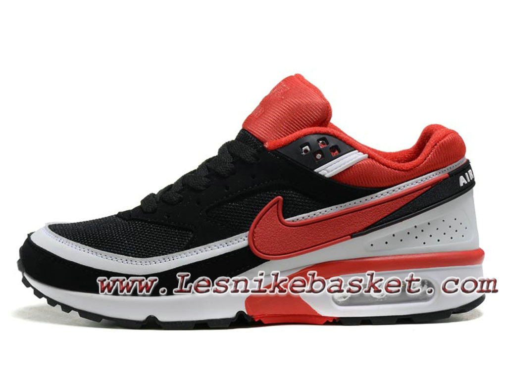 Nike Air Max Bw Chaussures Officiel Nike Rouge Prix Pour Homme Noir Rouge Nike 0077e7