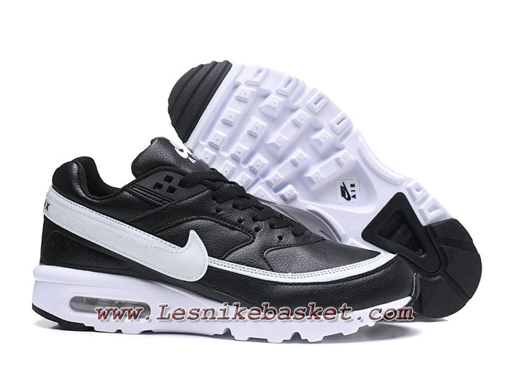 separation shoes 4675a 52358 ... Nike Air Max BW Chaussures Officiel NIke prix pour Homme Noires Blanc  ...