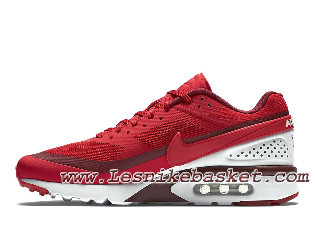 ... Nike Air Max Bw Ultra Red/Burgundy-White 819475-616 Chaussures nike Pas ...