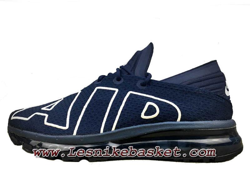 2017 Homme Nike Air Max Flair Chaussures Bleu Blanche Pas Cher