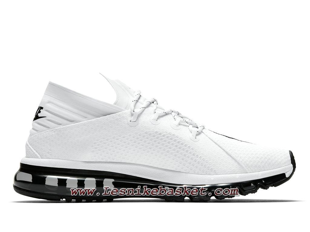 Nike Air Max Flair White Black 942236_101 Chaussures Nike Release 2017 Pour HOmme 1708253343 Les Nike Sneaker Officiel site En France