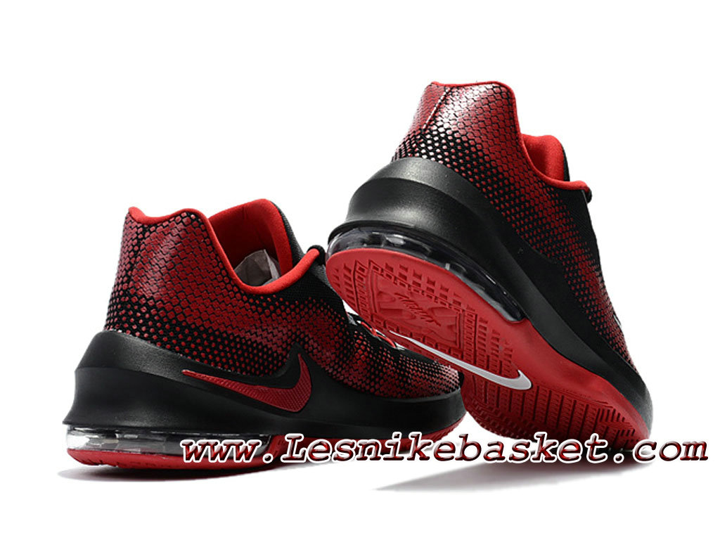 Nike Noire Air Max Infuriate Low Noire Nike Rouge 852457 ID2 Chaussures Nike 2dbf3d