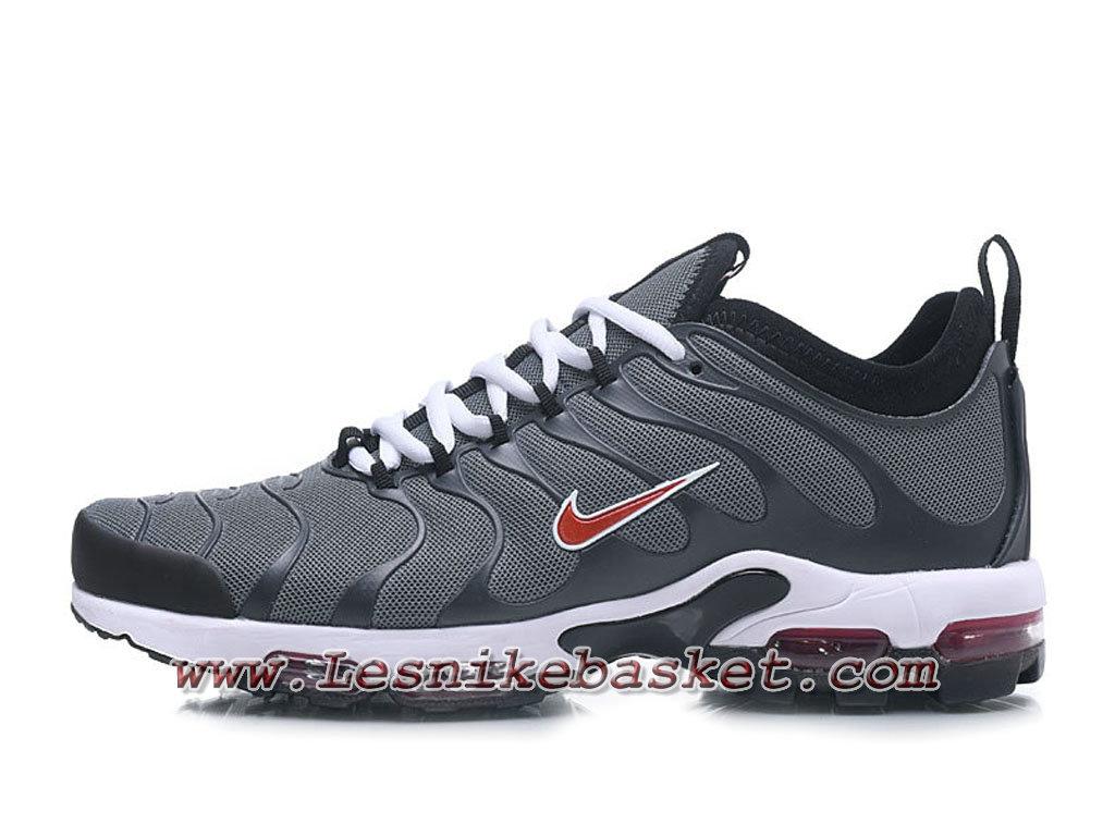 Nike Air max Plus Tn Ultra GreyRouge Chaussures Nike Tn pas