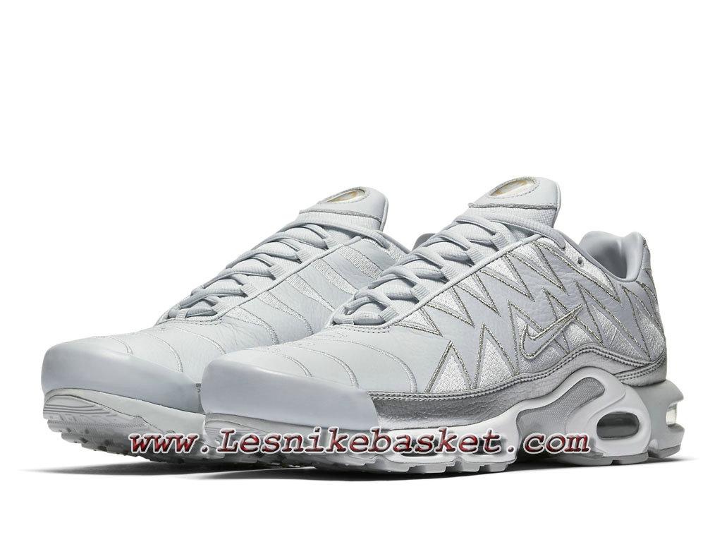 Nike Air Max Plus Zig Zag Silver Aj6301 001 Chaussures Tn Requin