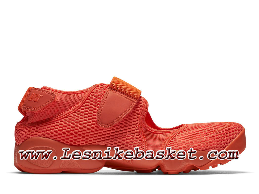new product ac9cc fcc5d Nike Air Rift Breathe Total Crimson Chaussures Air Ninja Officiel Prix Pour  homme Rouge 847609 800 ...