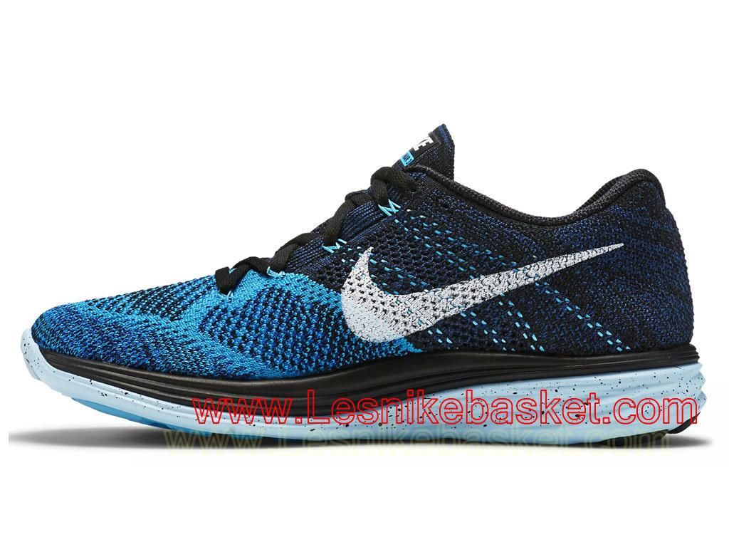... Nike Flyknit Lunar3 Blue Lagoon 698181_004 Chaussures Officiel NIke Pour Homme Bleu ...