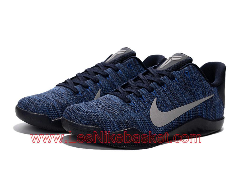 24153803376 ... authentic nike kobe 11 elite low chaussures nike pas cher pour homme  bleu blanc 822675 d2cea