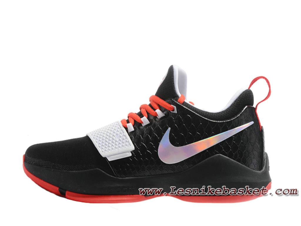 Nike PG 1 Noires/Rouge 878627 ID9 Chaussures Nike Basket Homme