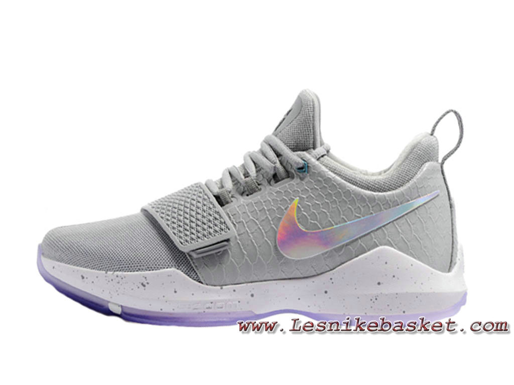 info for cb26d 2a32a Nike PG 1 ´Wolf Grey´ 878627 ID11 Chaussures Nike Basket Homme Gris