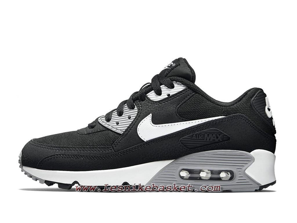 Nike WMNS Air Max 90 Essential Noires Blanches 616730_012 Chaussures Nike Sportwear Pour FemmeEnfant 1804213758 Les Nike Sneaker Officiel site En