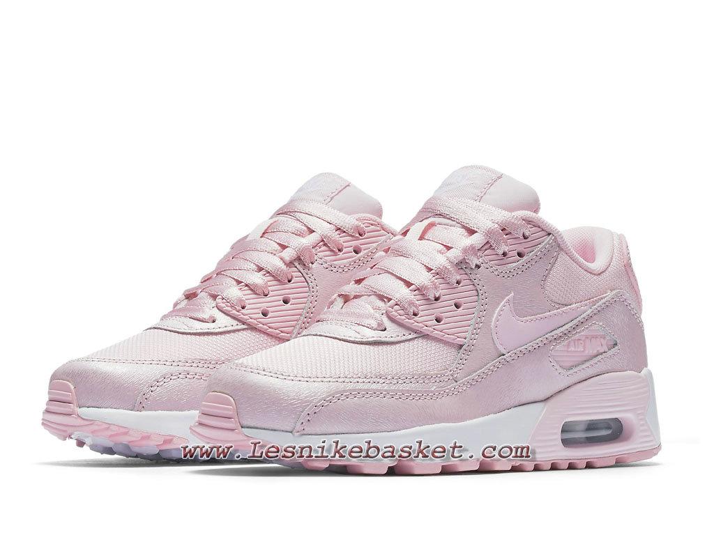 Nike Wmns Air Max 90 Essential Rose 880305_600 Chaussures Nike SportwearPour FemmeEnfant 1804213757 Les Nike Sneaker Officiel site En France
