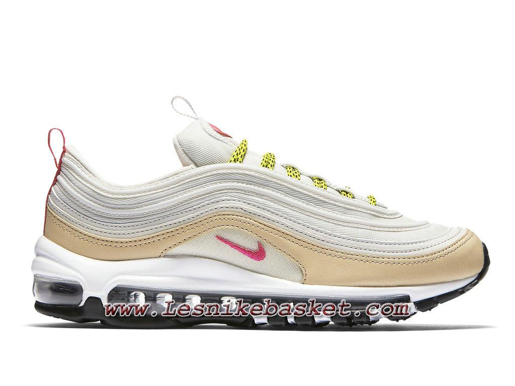 ... Nike Wmns Air Max 97 White Tan Pink 921733_004 Chaussures Pour Femme/ Enfant ...
