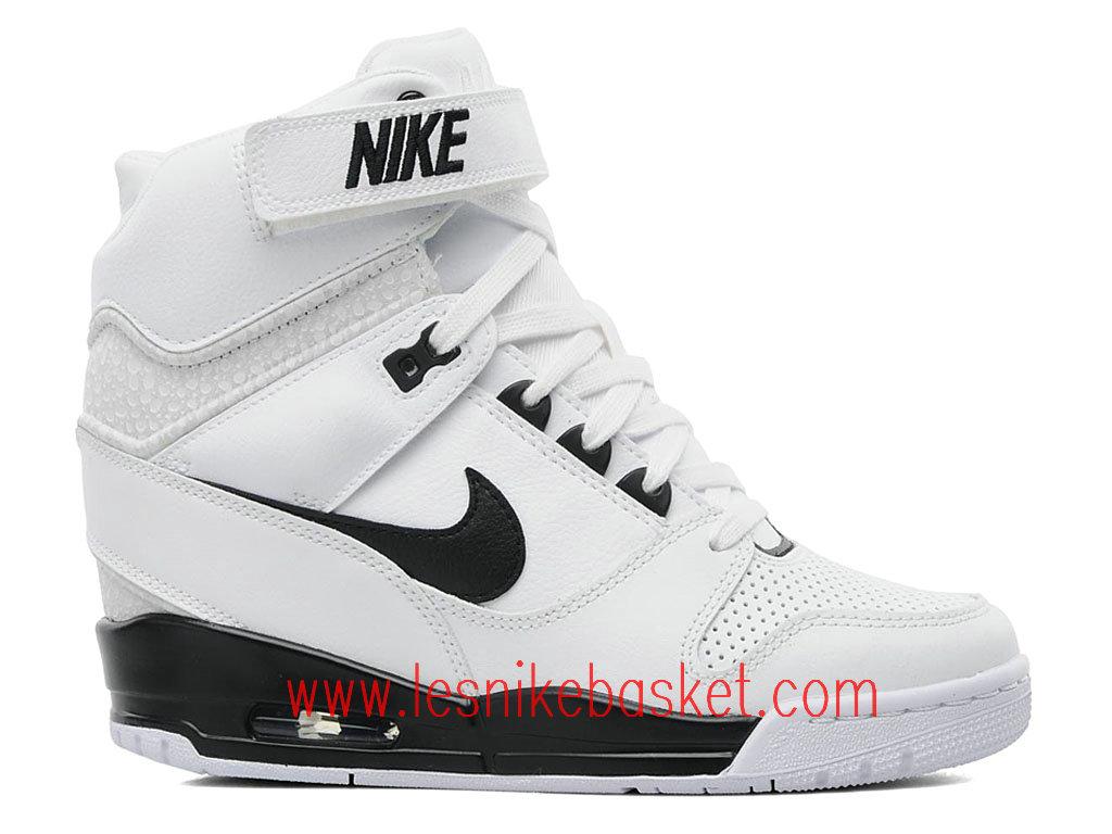 new product de00b d359a Nike Wmns Air Revolution Sky Hi GS Chausport Officiel Nike Pour Femme Blanc  637989-100 ...