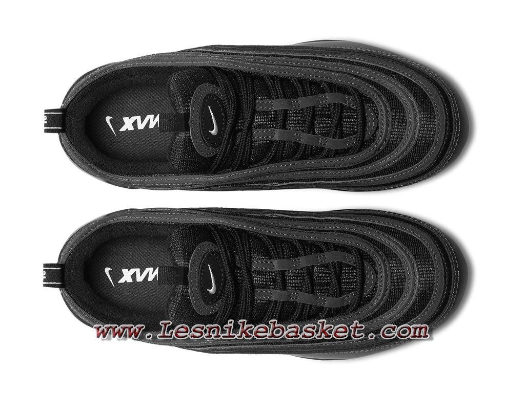 innovative design 10a1a 8ff40 ... Nike Wmns Air VaporMax 97 Black Reflect AO4542 001 Chaussures Officiel  2018 Pour Femme Enfant Noires ...